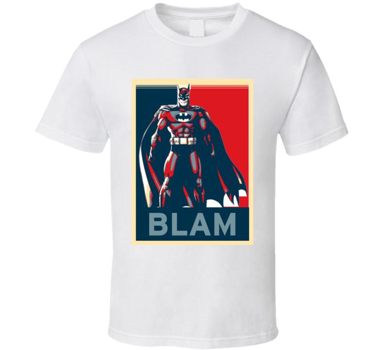 Batman Hope Poster Parody T Shirt