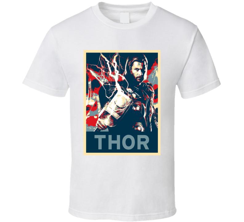 Thor Hope Poster Parody T Shirt