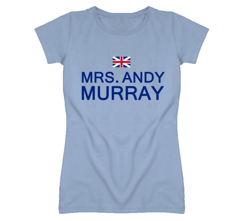 Mrs. Andy Murray - Tennis T Shirt