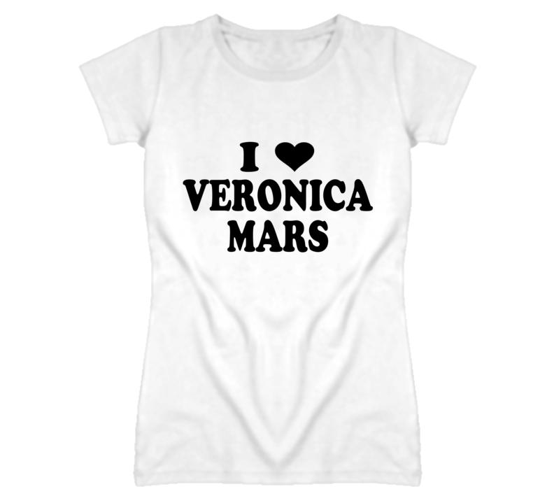 I Heart / Love Veronica Mars T Shirt
