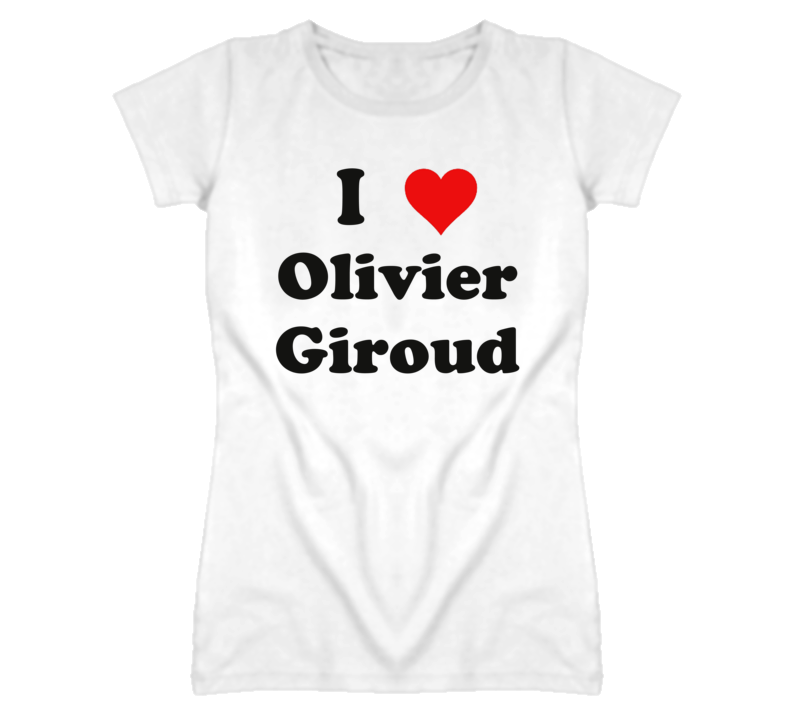 12c1ffb869f I Heart   Love Olivier Giroud - Football (Soccer) T Shirt