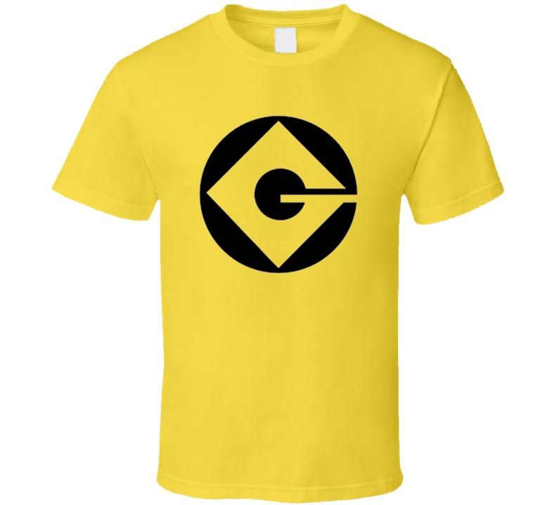 Gru Industries - Despicable Me Minion Halloween Costume T Shirt