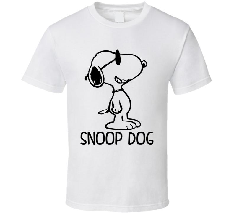 Snoop Dog - Peanuts Movie Snoopy Inspired. T Shirt