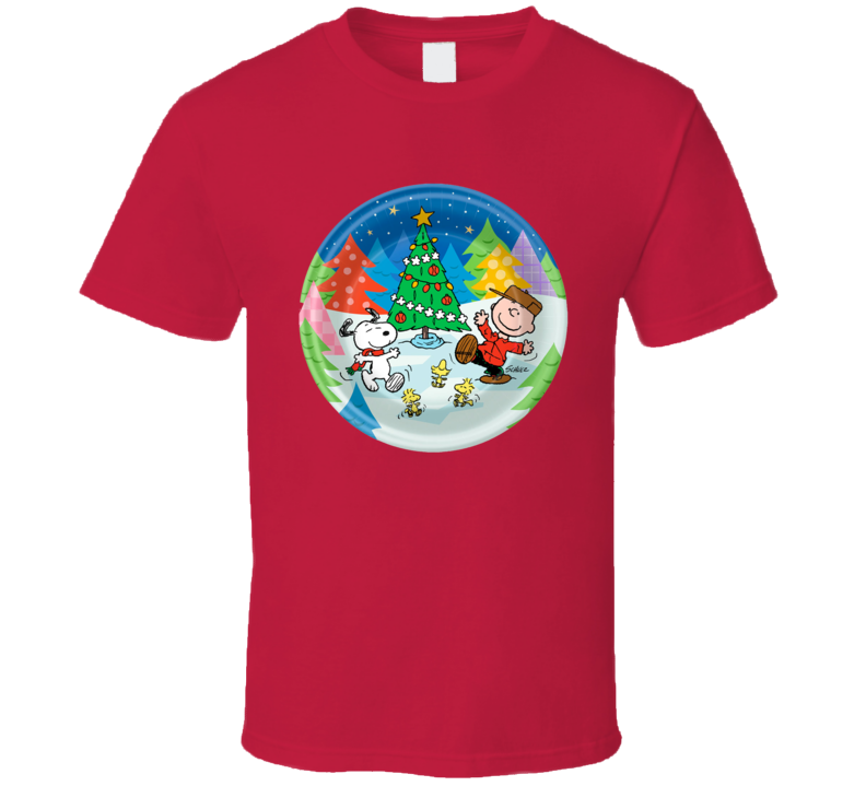 Charlie Brown - Peanuts Christmas T Shirt