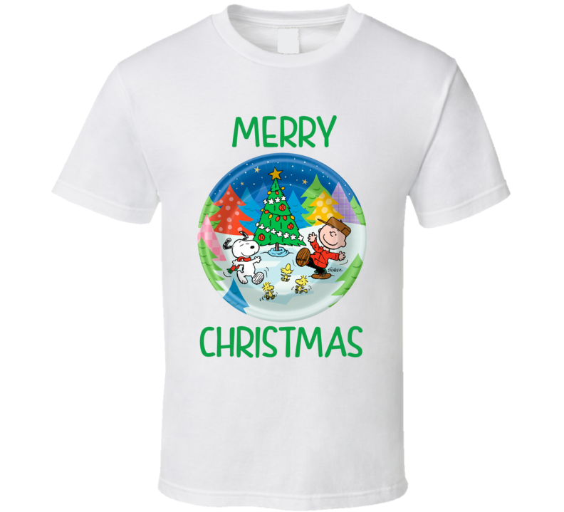 Merry Christmas Charlie Brown - Peanuts T Shirt