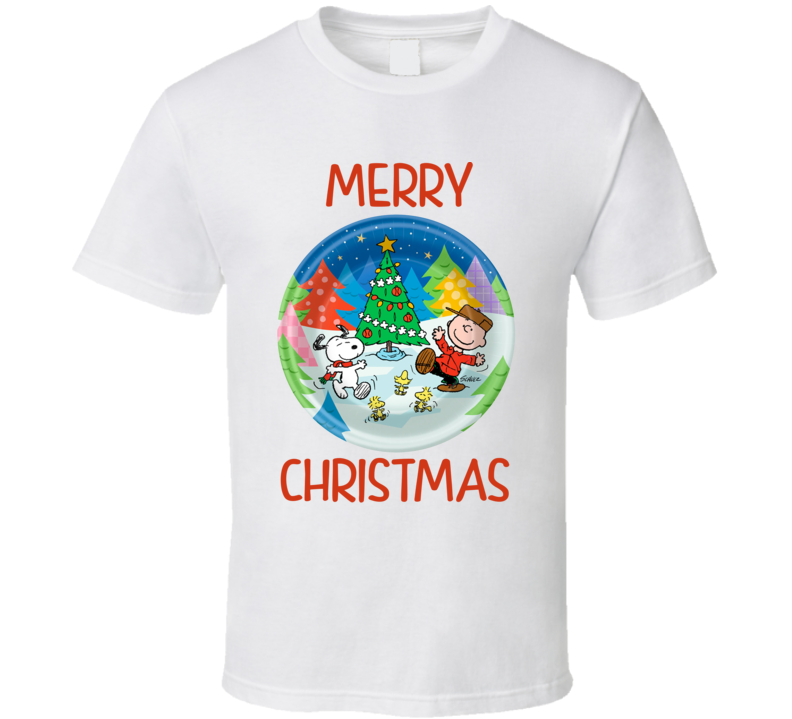 Merry Christmas Charlie Brown - Peanuts Holiday T Shirt