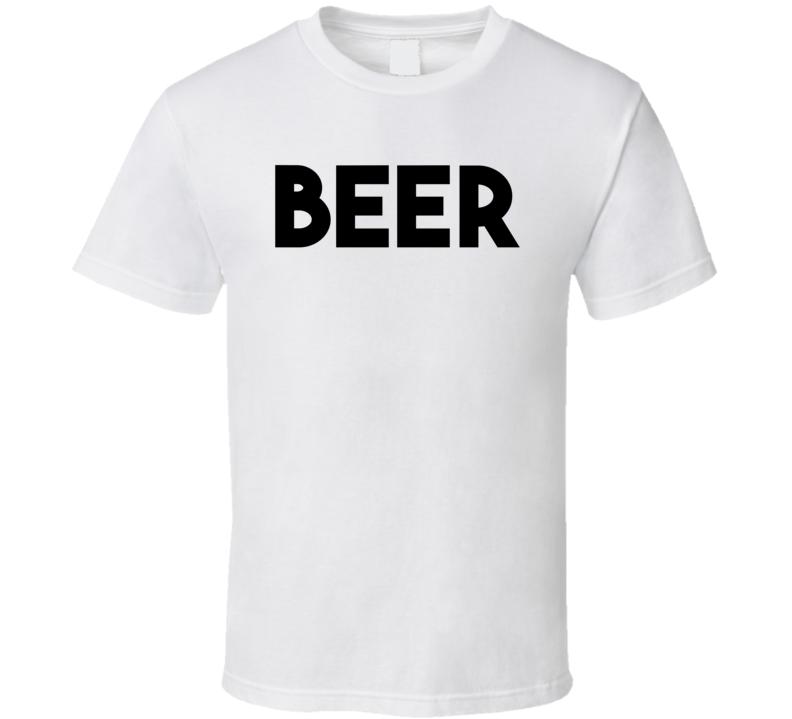 Neighbors 2 Sorority Rising Beer (Black Font) Movie T Shirt