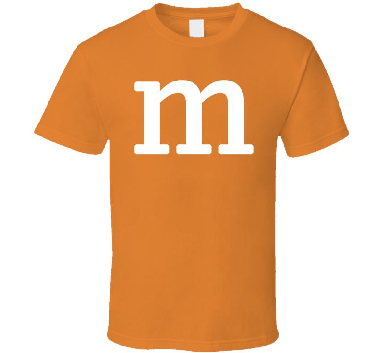 M&M's Halloween Costume (White Font)  T Shirt