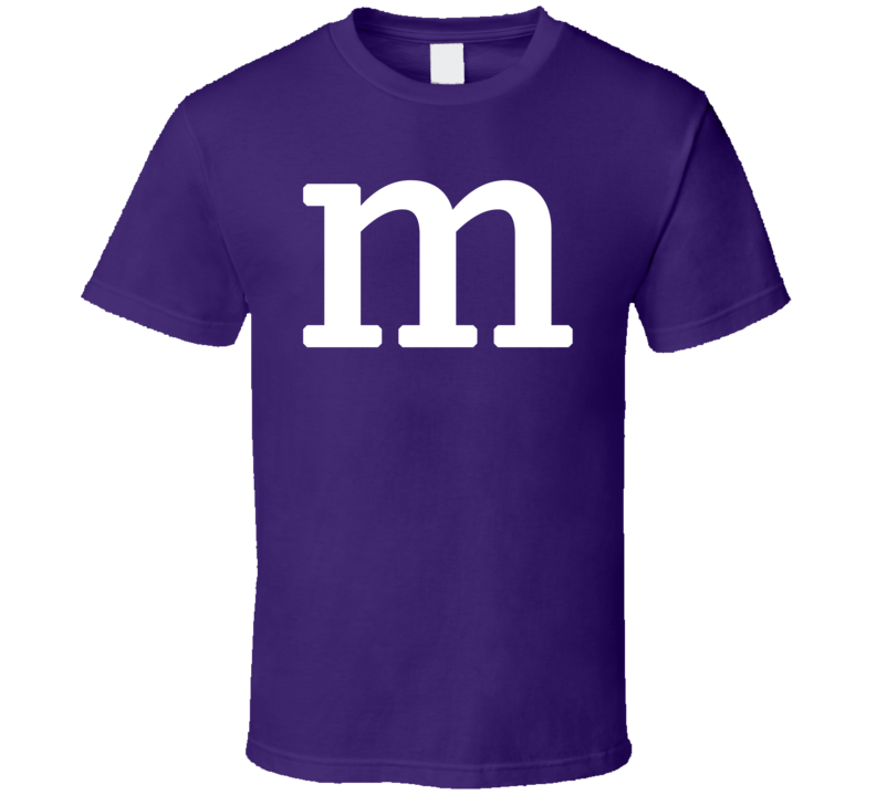 M&M's Halloween Costume (White Font)  T Shirt