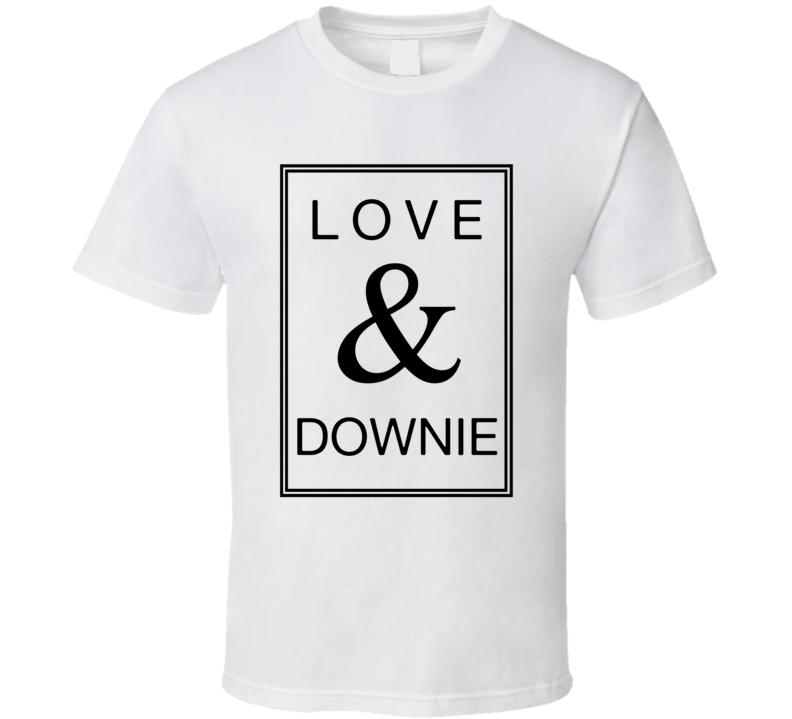 Love & Downie - Tragically Hip Gord Downie Inspired Rip T Shirt