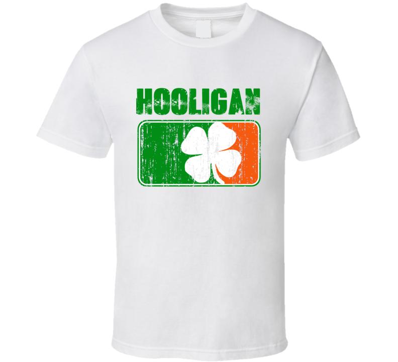 Hooligan - Funny St. Patrick's Day Pub T Shirt