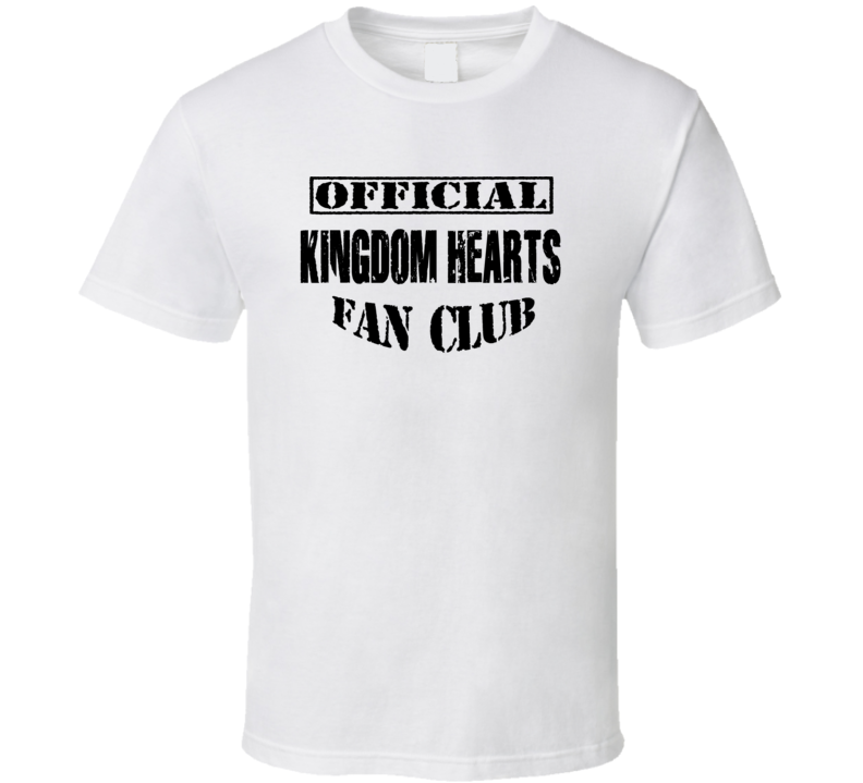 Official Kingdom Hearts Fan Club - Kingdom Hearts Movie Inspired T Shirt
