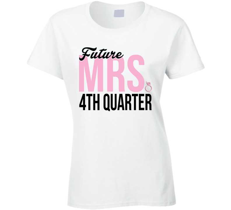 new arrival 577b0 08ac3 Future Mrs. 4th Quarter Donovan Mitchell Inspired T Shirt