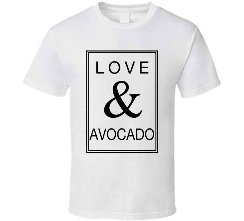 Love & Avocado T Shirt