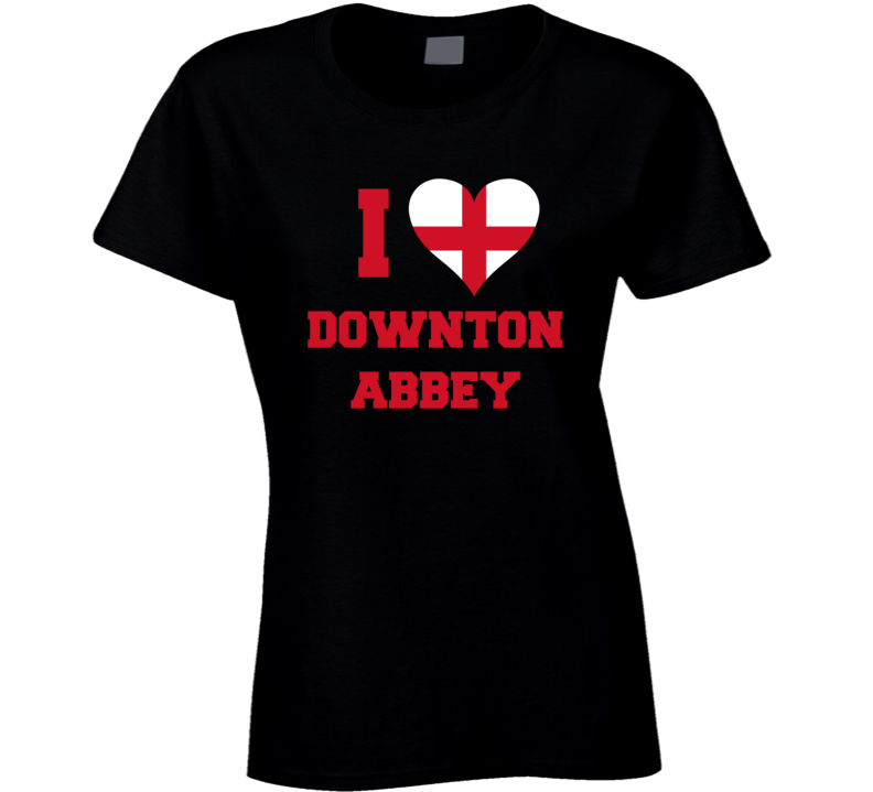I Heart / Love Downton Abbey - Popular Tv / Movie T Shirt