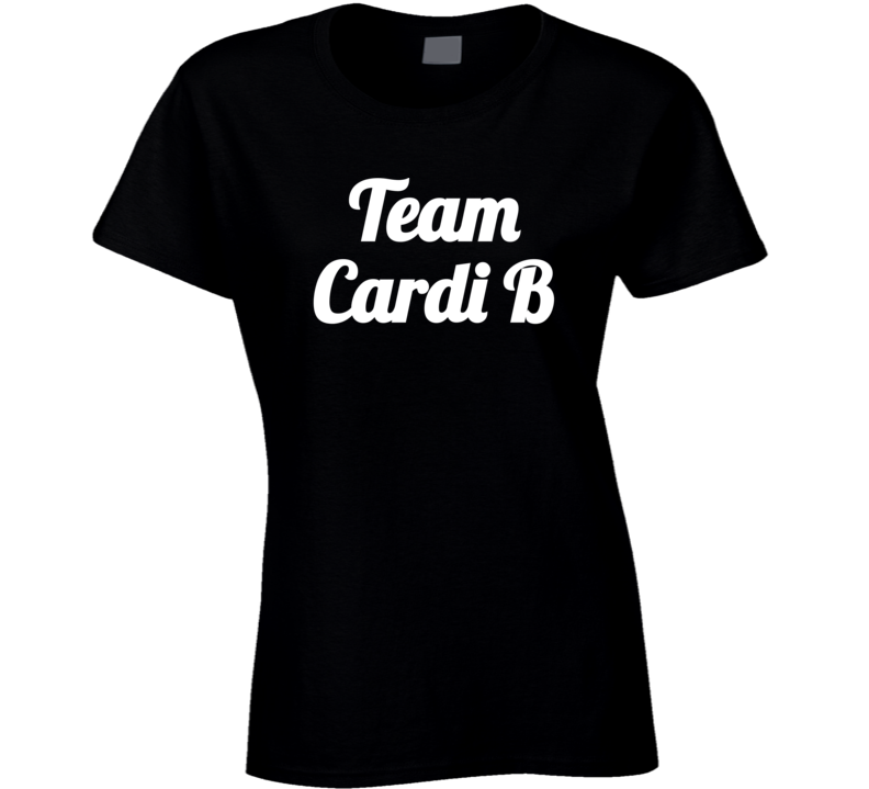 Team Cardi ( White Font) Minaj Fued Popular T Shirt