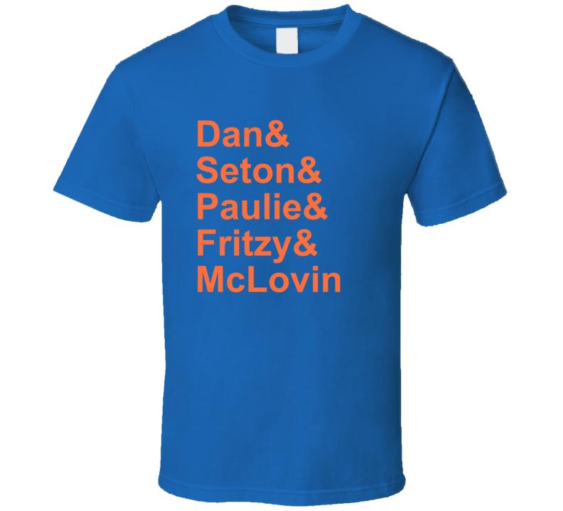 Adam Sandler Funny Comedy Special Dan& Seton& Paulie& Fritzy& McLovin T Shirt