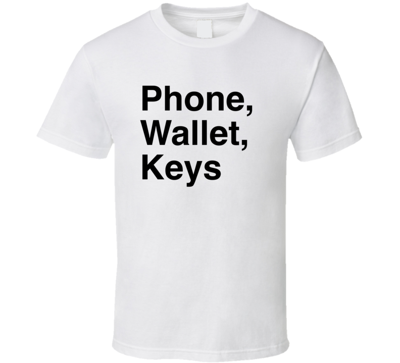 Funny Adam Sandler Special Phone, Wallet, Keys T Shirt
