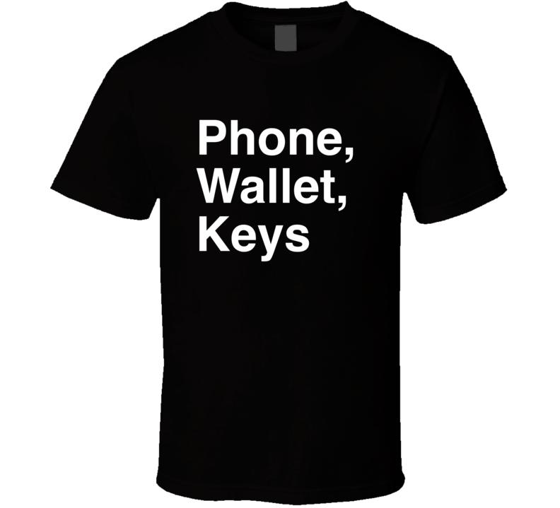 Adam Sandler Comedy Special Phone, Wallet, Keys  T Shirt