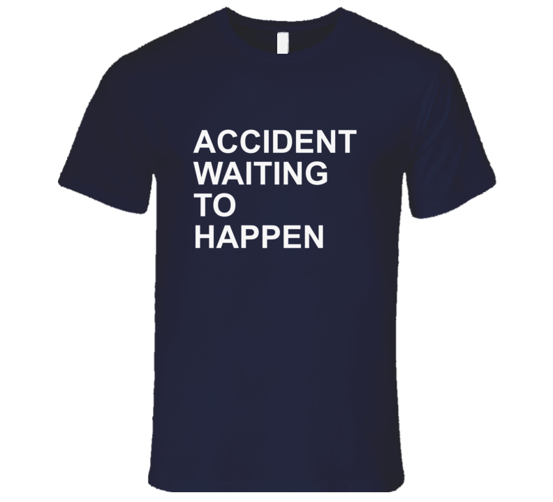 Accident Waiting To Happen - Stephen A Smith Cowboys Inspired  T Shirt