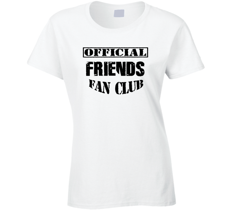 Official Friends Popular Anniversary Ladies T Shirt