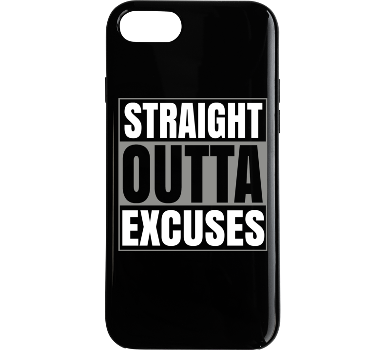 Straight Outta Excuses Popular Climate Change Political Phone Case