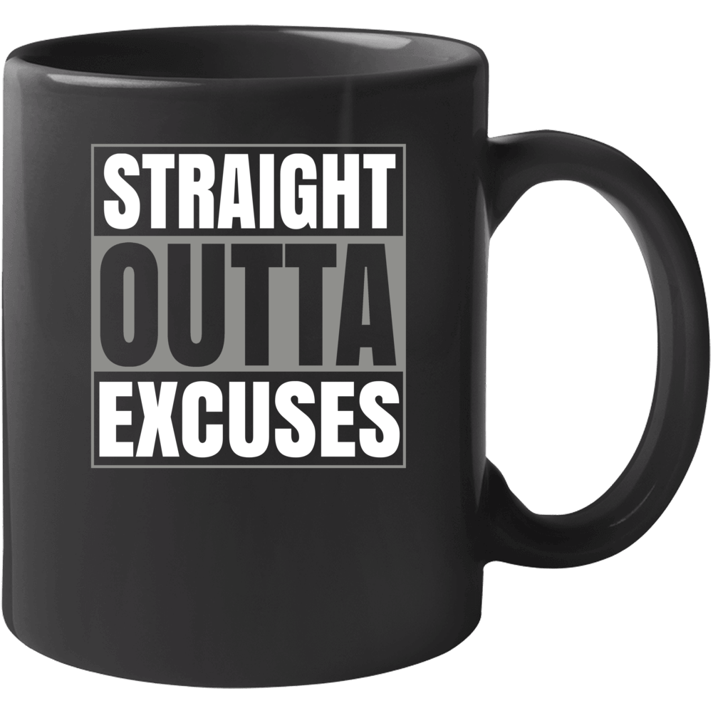 Straight Outta Excuses Popular Climate Change Political Mug