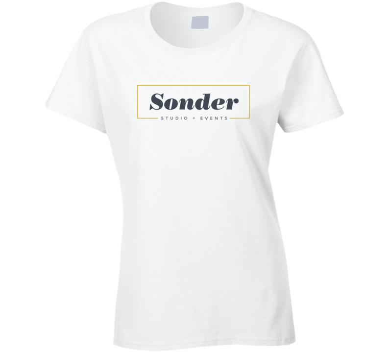 Sonder Studio + Events Ladies T Shirt