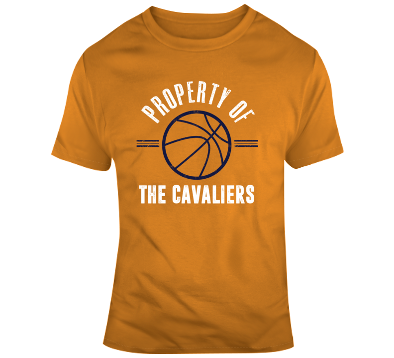 Property Of The Cavaliers Basketball Popular T Shirt