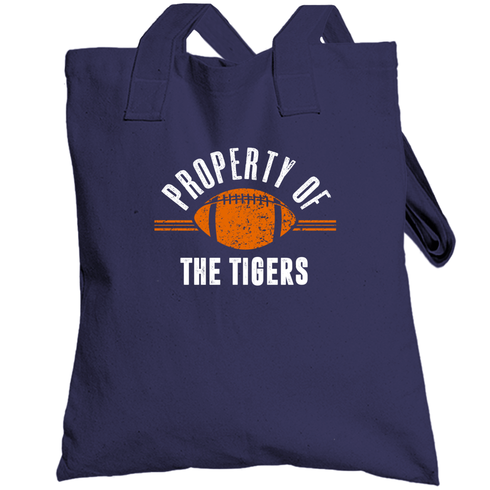 Property Of The Tigers Popular Football Totebag
