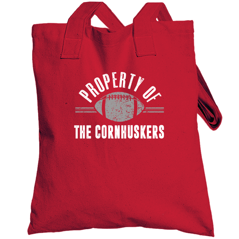 Property Of The Cornhuskers Popular Football Totebag