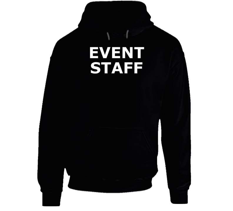 Event Staff ( White Font ) Popular Hoodie