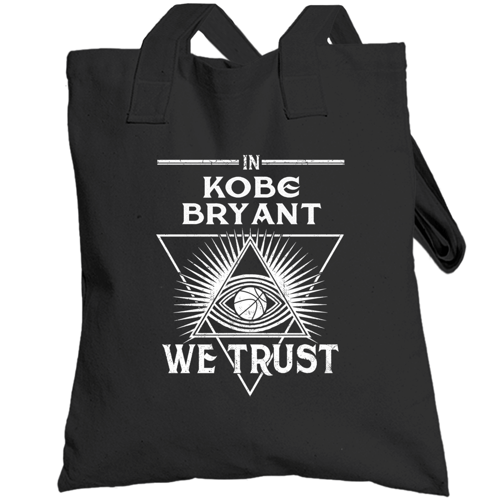 In Kobe Bryant We Trust Rip Mamba Totebag