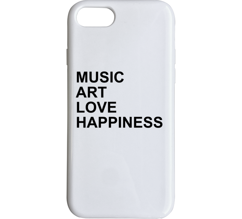 Music Love Art Happiness Jlo Jennifer Lopez Inspired Gym Phone Case