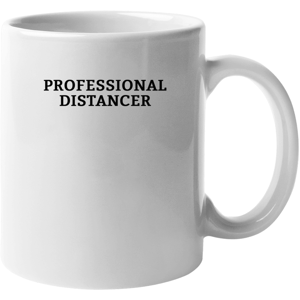 Professional Distancer - Corona Virus Covid 19 Popular Mug