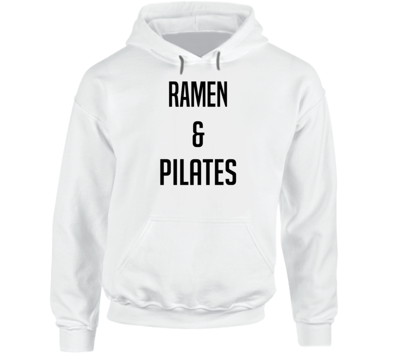 Ramen And Pilates Funny Popular Hoodie