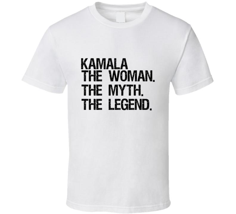 Kamala Harris The Woman The Myth The Legend Vice President Popular T Shirt