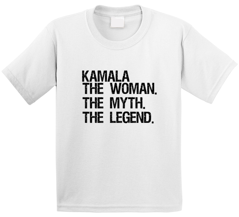 Kamala Harris The Woman The Myth The Legend Vice President Popular T Shirt