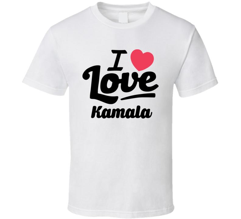 I Love Vice President Kamala Harris Popular T Shirt