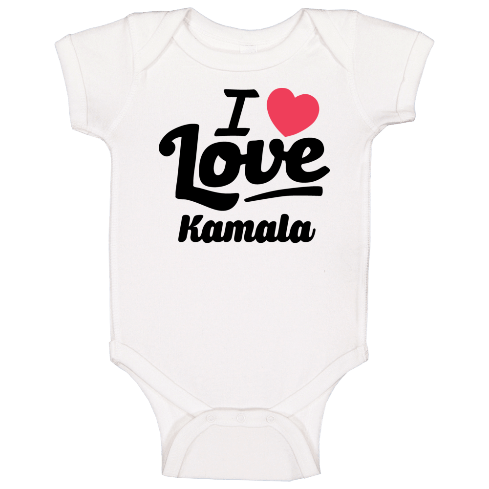 I Love Vice President Kamala Harris Popular Baby One Piece