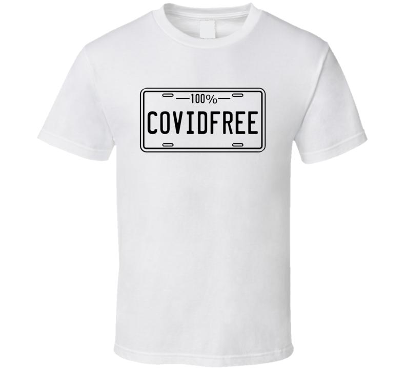 100% Covid Free Popular Best Seller T Shirt