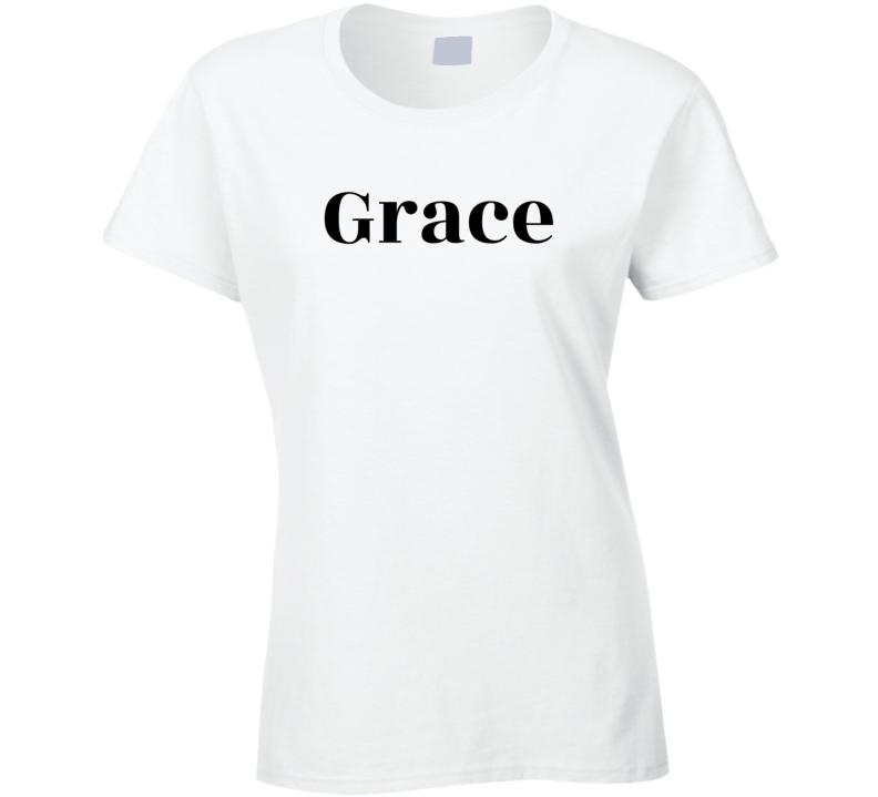 Grace ( Grace & Frankie Comedy ) Popular Ladies T Shirt