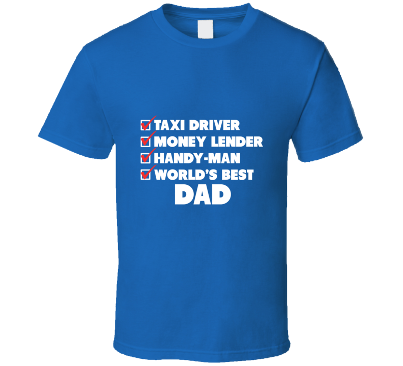 Best Fathers Day Best Dad Gift Happy Fathers Day T Shirt