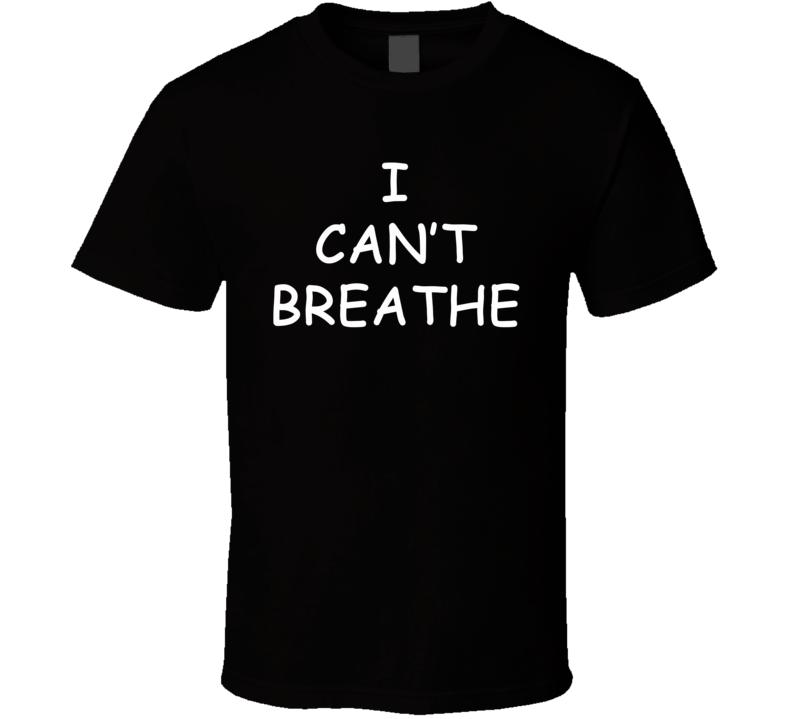 I Can't Breathe - Derrick Rose Chicago Bulls Inspired (White Font) T Shirt