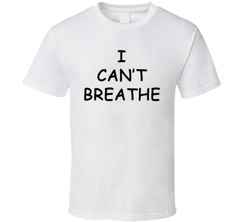 I Can't Breathe - Derrick Rose Chicago Bulls Inspired (Black Font) T Shirt