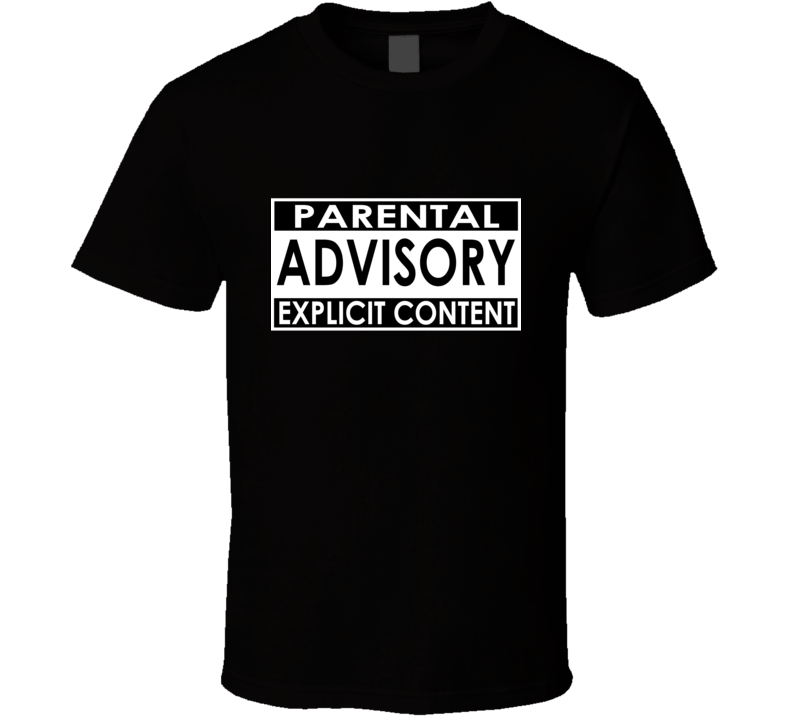 Kim Sears / Andy Murray Inspired - Parental Advisory Explicit Content T Shirt