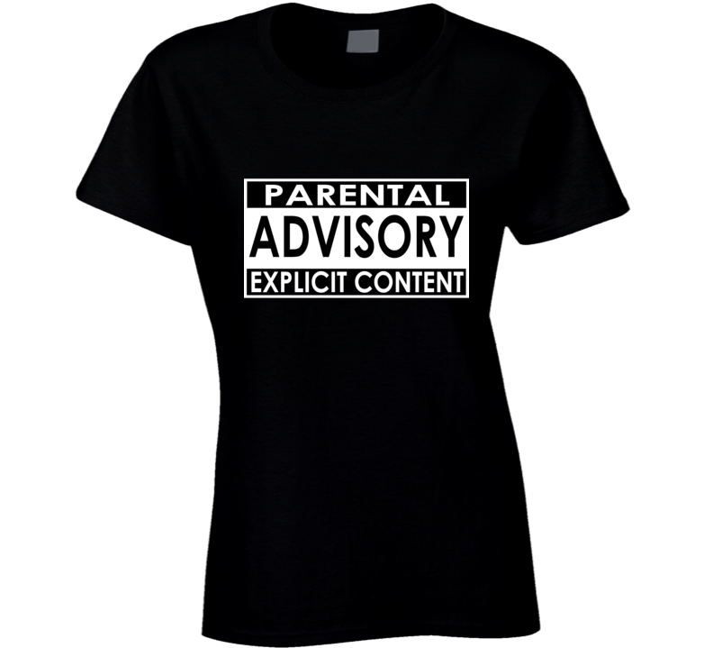 Kim Sears / Andy Murray Inspired - Parental Advisory Explicit Content Funny Ladies T Shirt