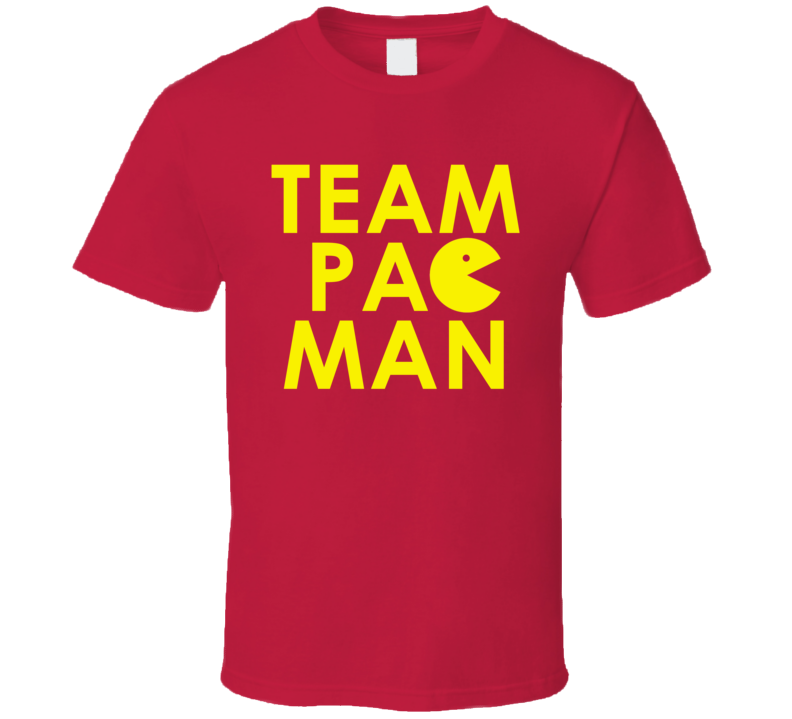 Team Pacman - Manny Pacquiao Inspired (Yellow Font) T Shirt