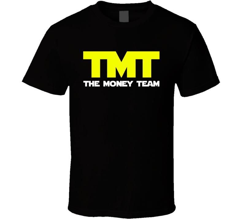 The Money Team - Floyd Mayweather Jr. Inspired (Yellow/White Font) T Shirt