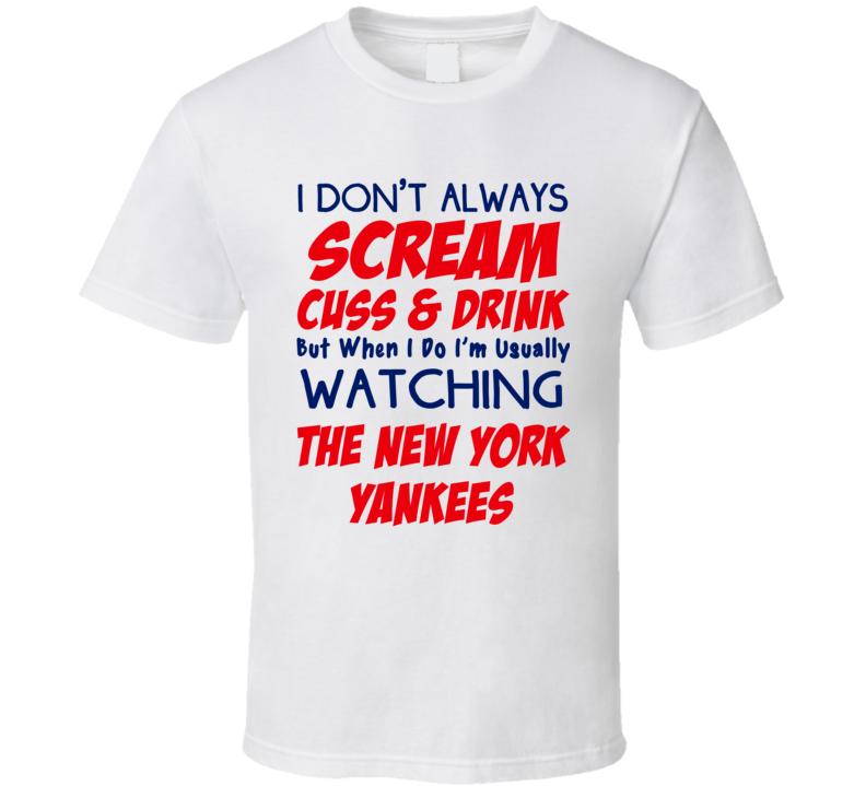 wholesale dealer 2e709 fd187 yankees funny t shirts